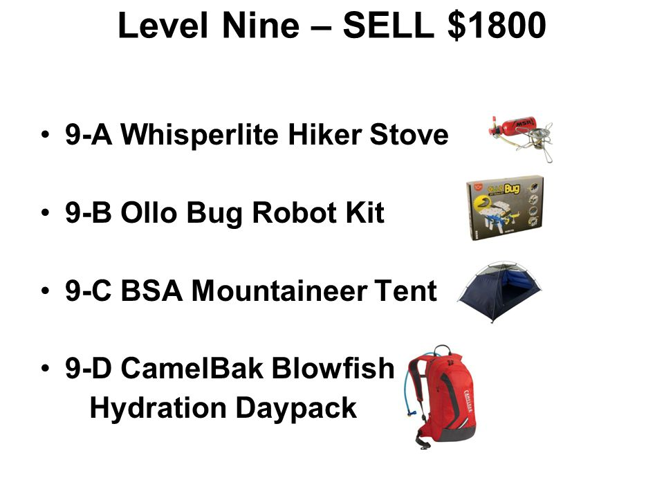 Level Nine – SELL $1800 9-A Whisperlite Hiker Stove