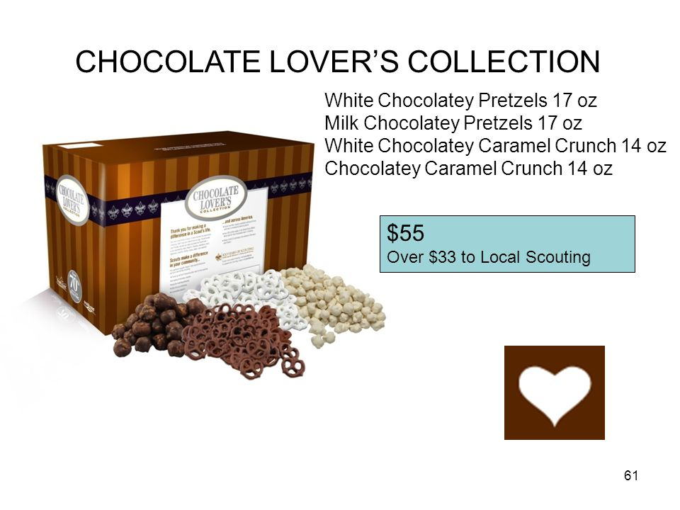 CHOCOLATE LOVER'S COLLECTION