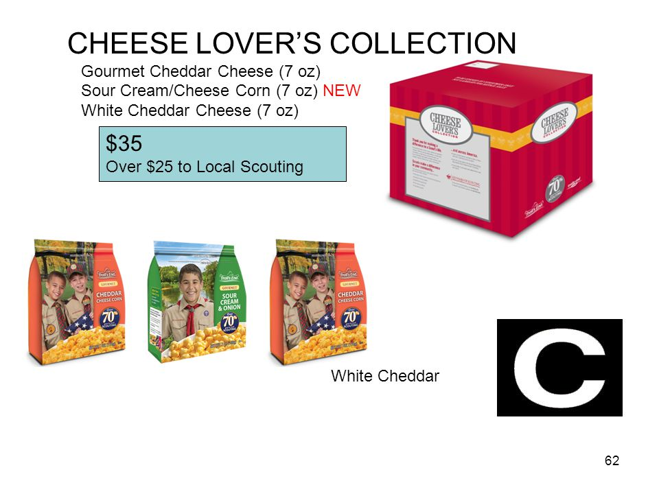 CHEESE LOVER'S COLLECTION