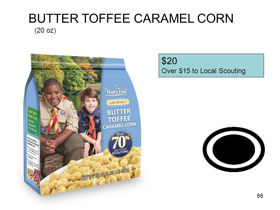 BUTTER TOFFEE CARAMEL CORN