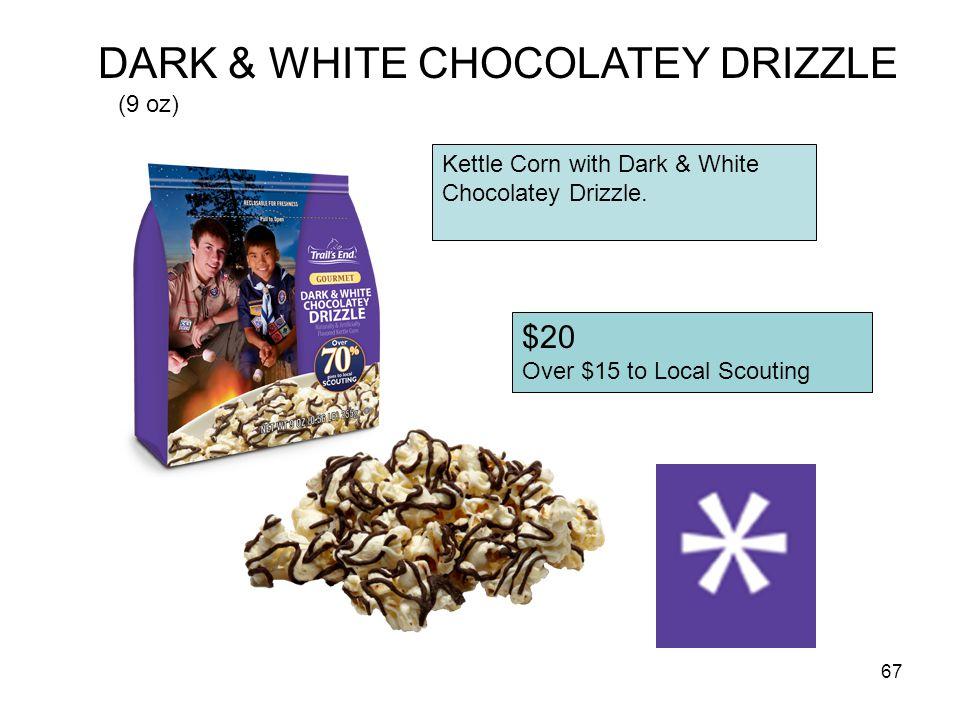 DARK & WHITE CHOCOLATEY DRIZZLE