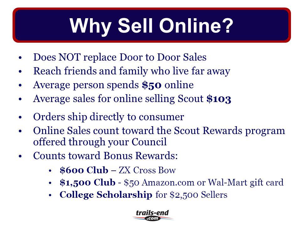 Why Sell Online Does NOT replace Door to Door Sales