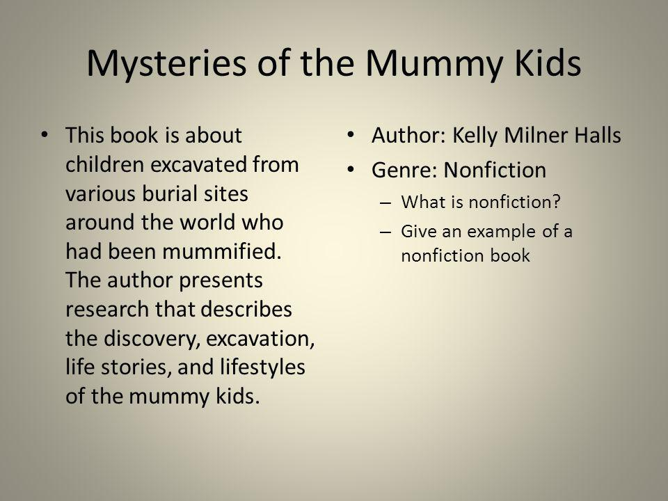 Mysteries of the Mummy Kids
