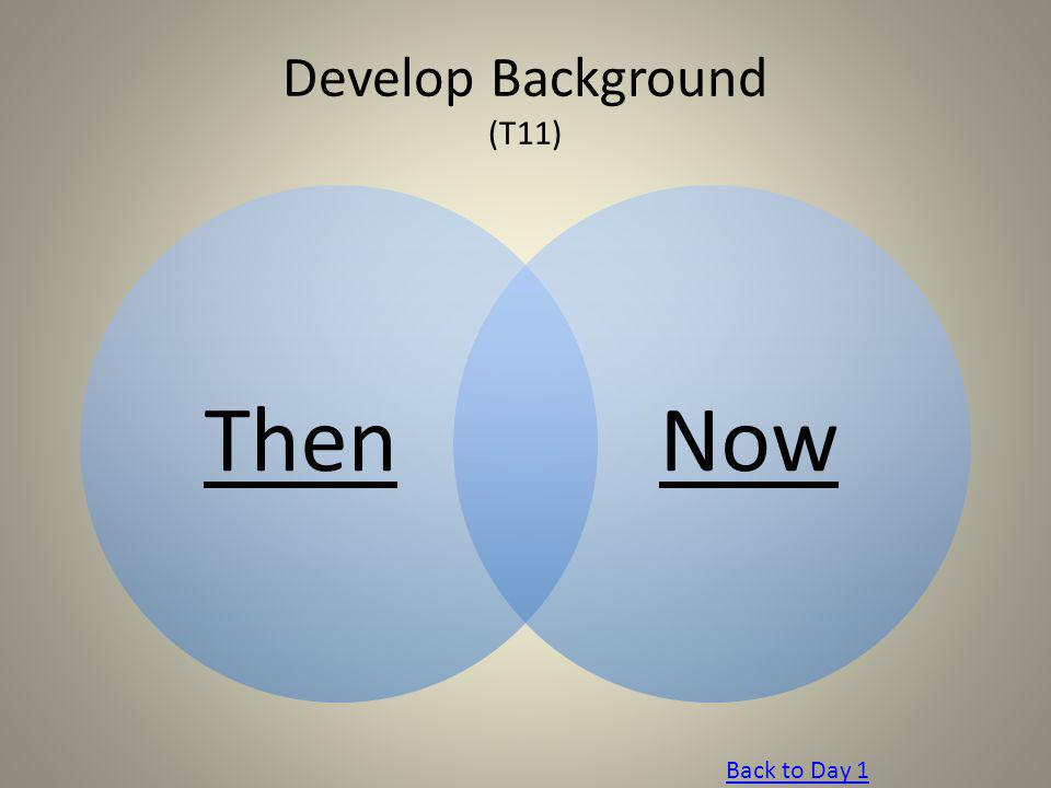 Develop Background (T11)