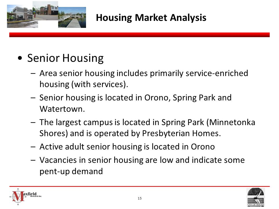 Senior Housing Housing Market Analysis