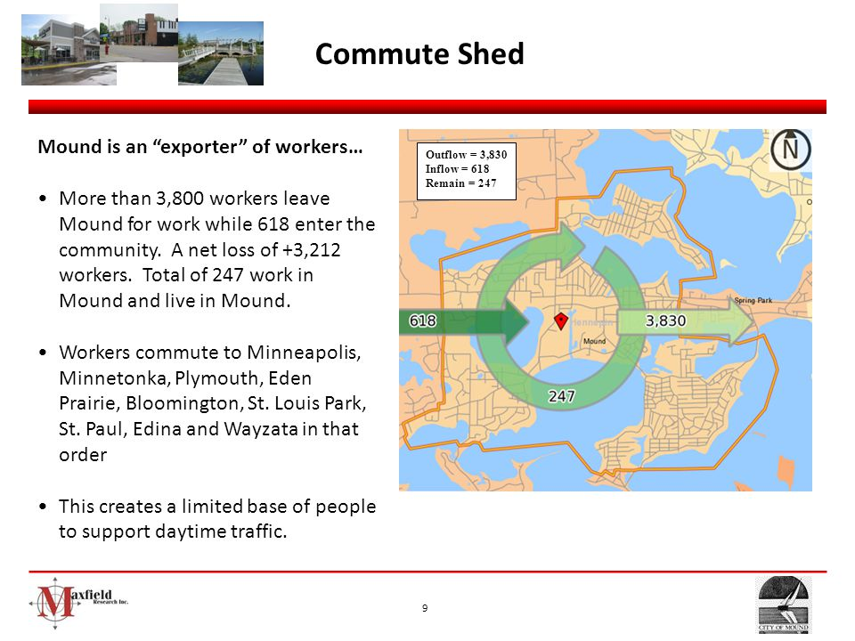 Commute Shed Mound is an exporter of workers…