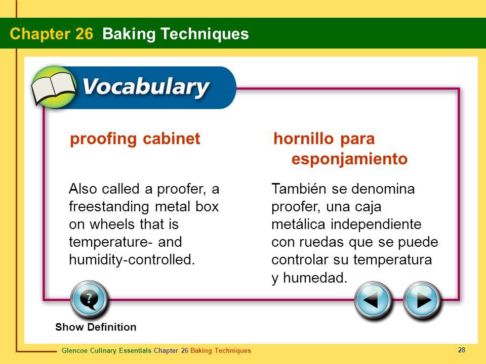 proofing cabinet hornillo para esponjamiento