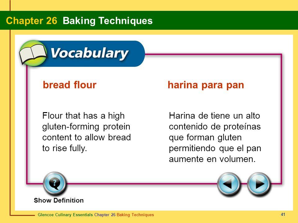 bread flour harina para pan