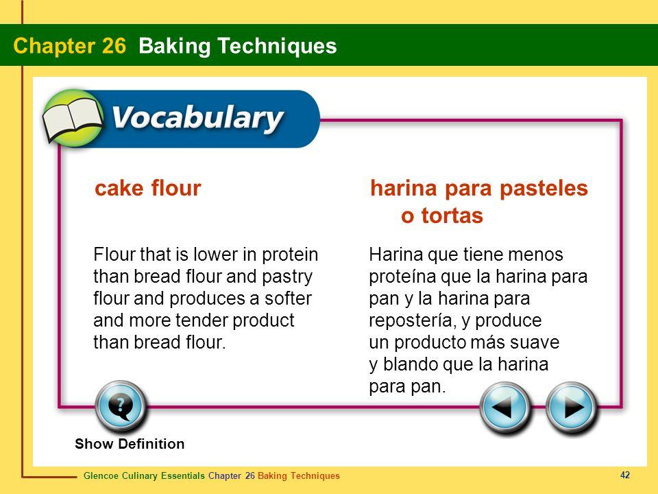 cake flour harina para pasteles o tortas