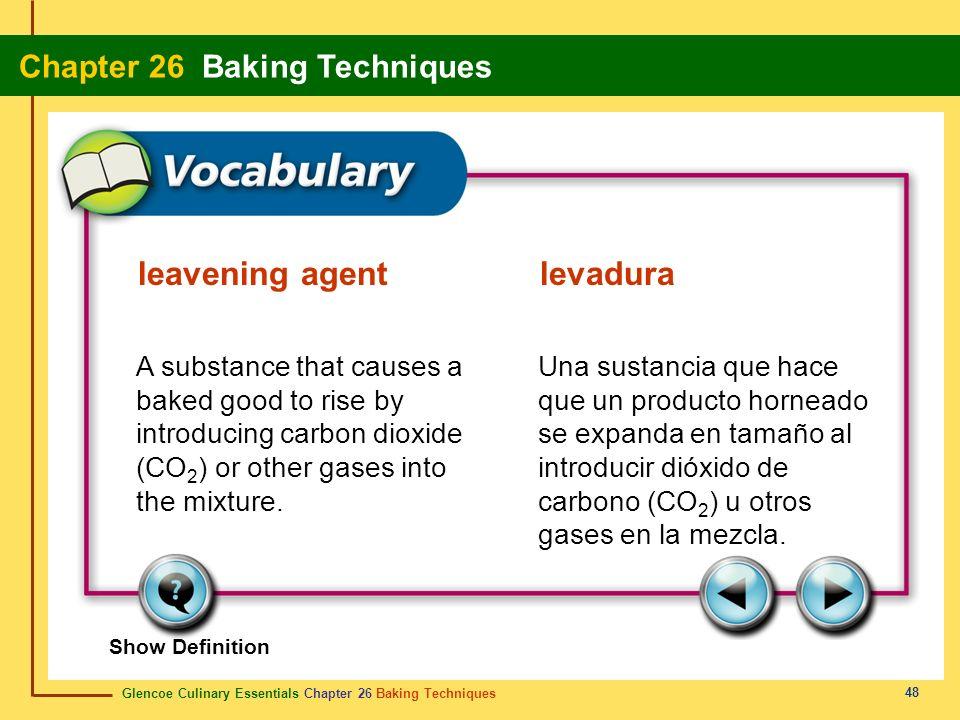 leavening agent levadura
