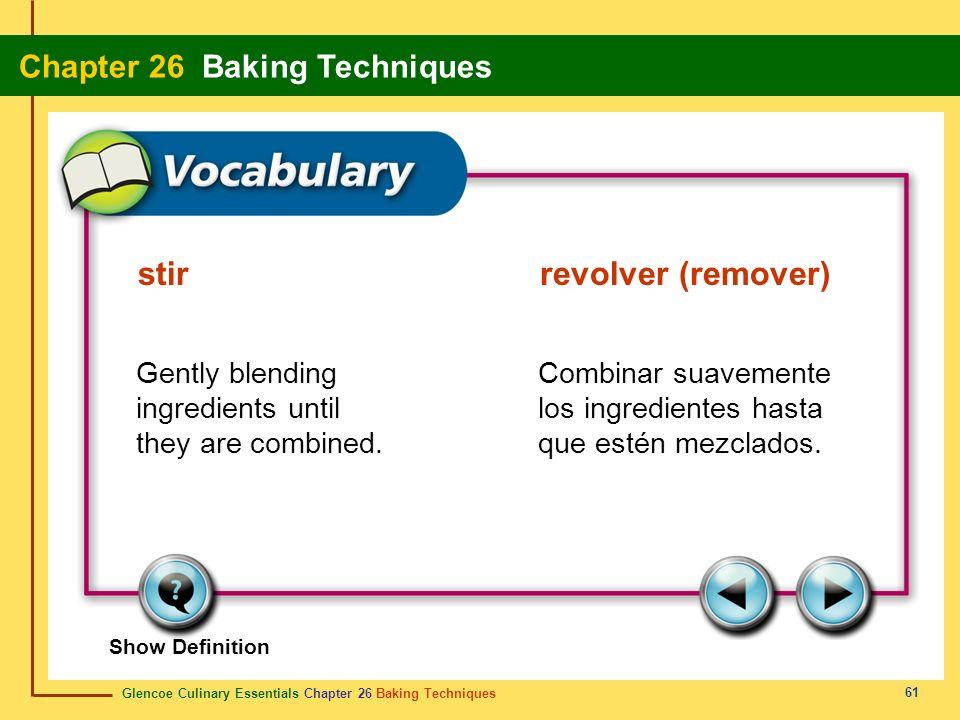 stir revolver (remover)