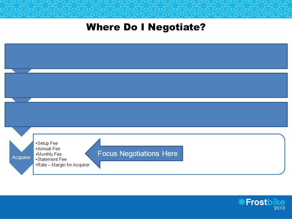 Focus Negotiations Here