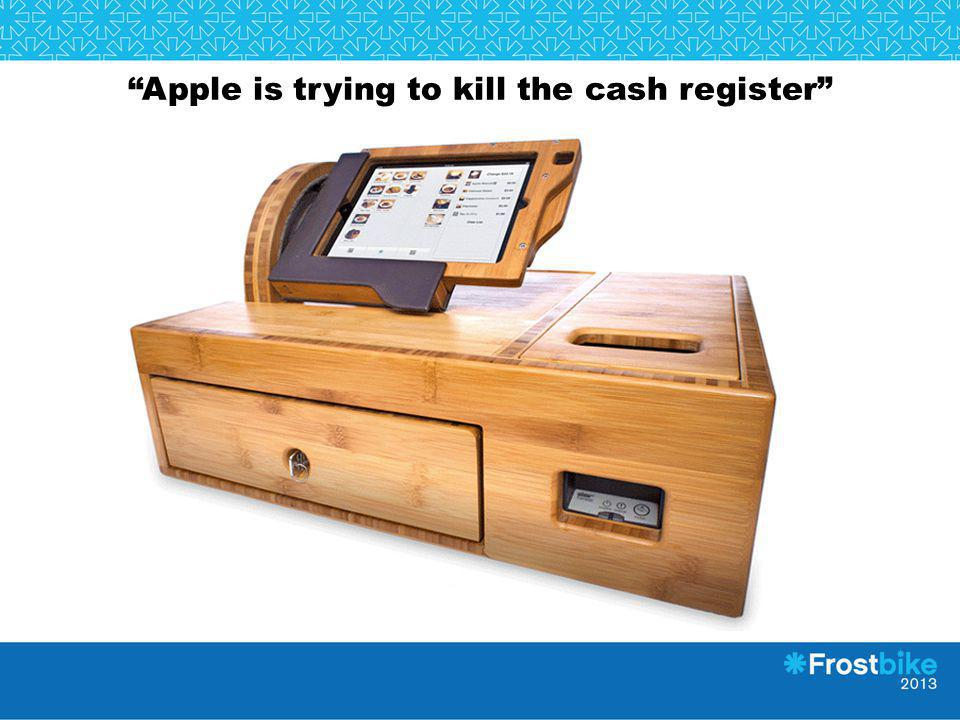 Apple is trying to kill the cash register
