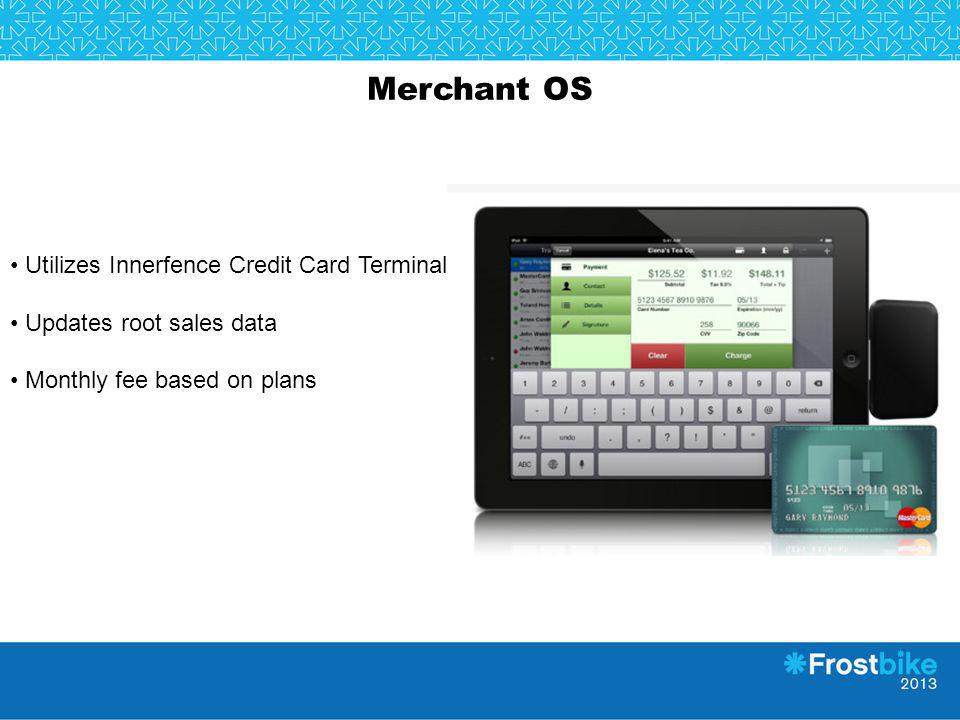 Merchant OS Utilizes Innerfence Credit Card Terminal