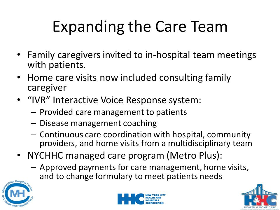 Expanding the Care Team