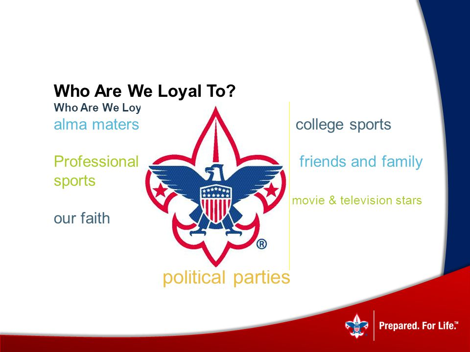 political parties Who Are We Loyal To alma maters college sports