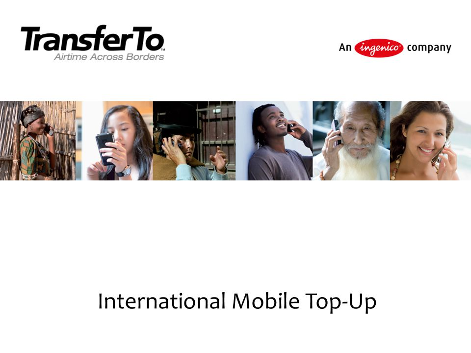 International Mobile Top-Up
