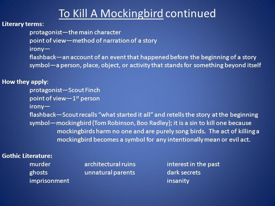 To Kill A Mockingbird continued
