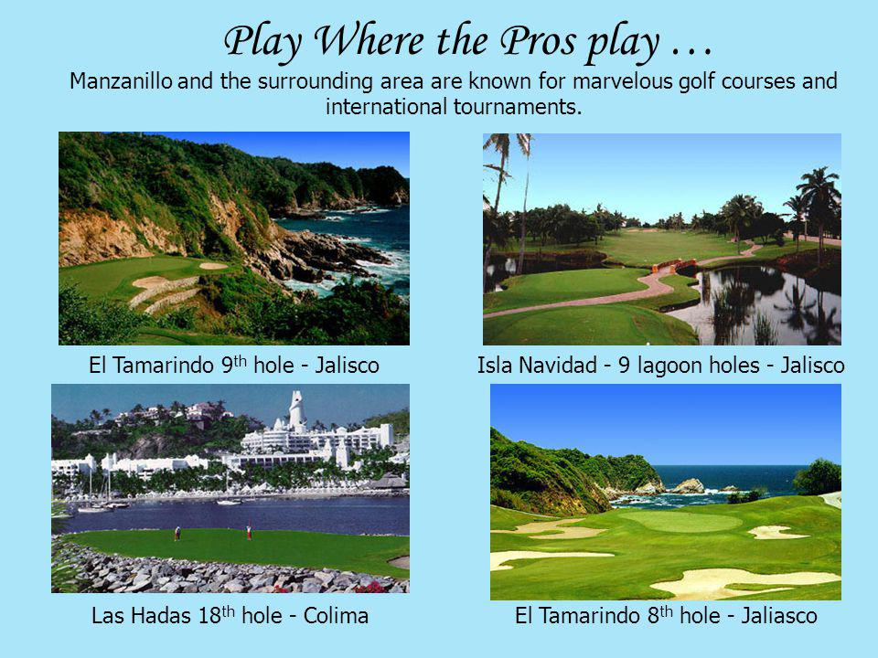 Play Where the Pros play …