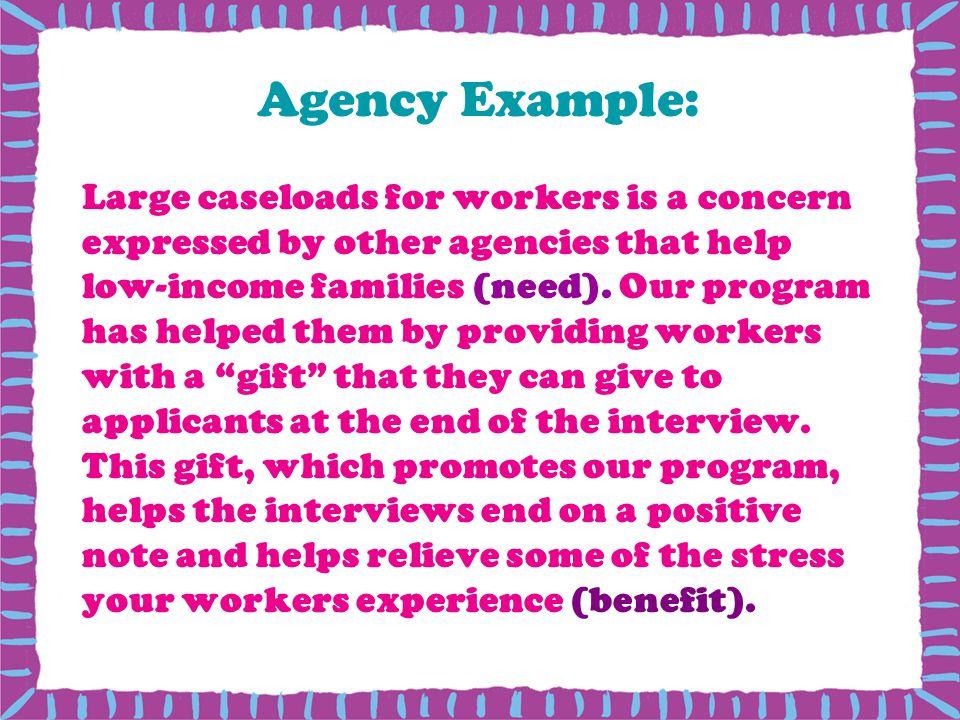 Agency Example: