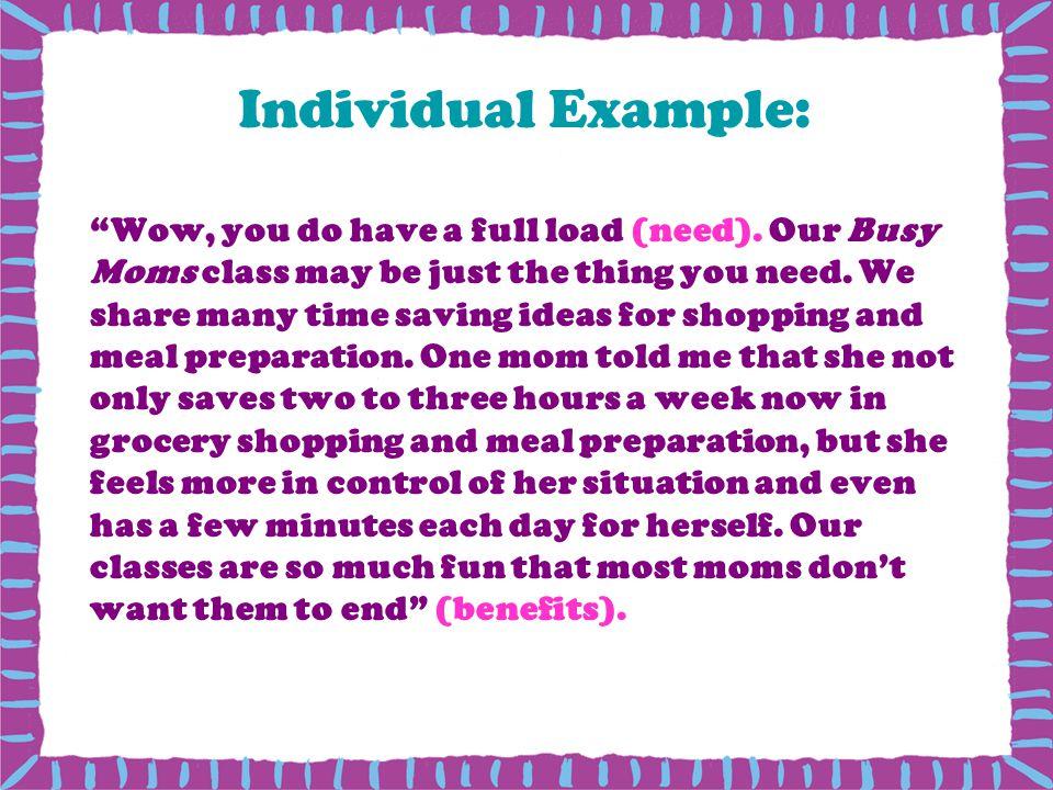 Individual Example:
