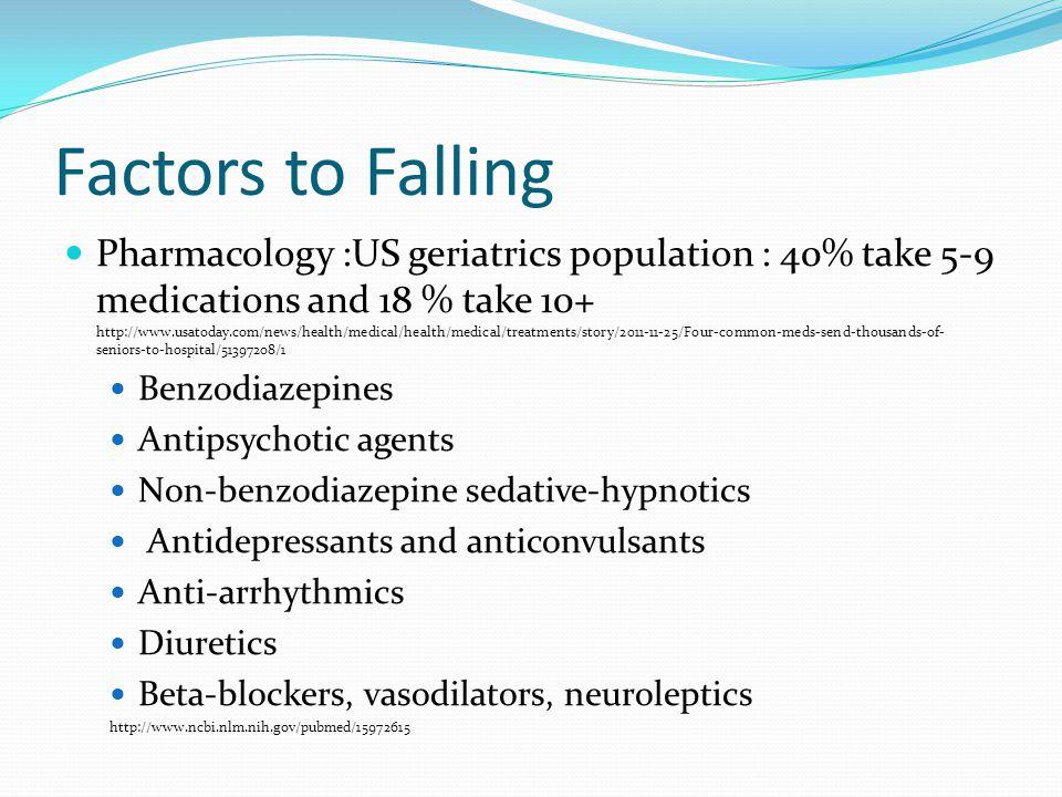 Factors to Falling