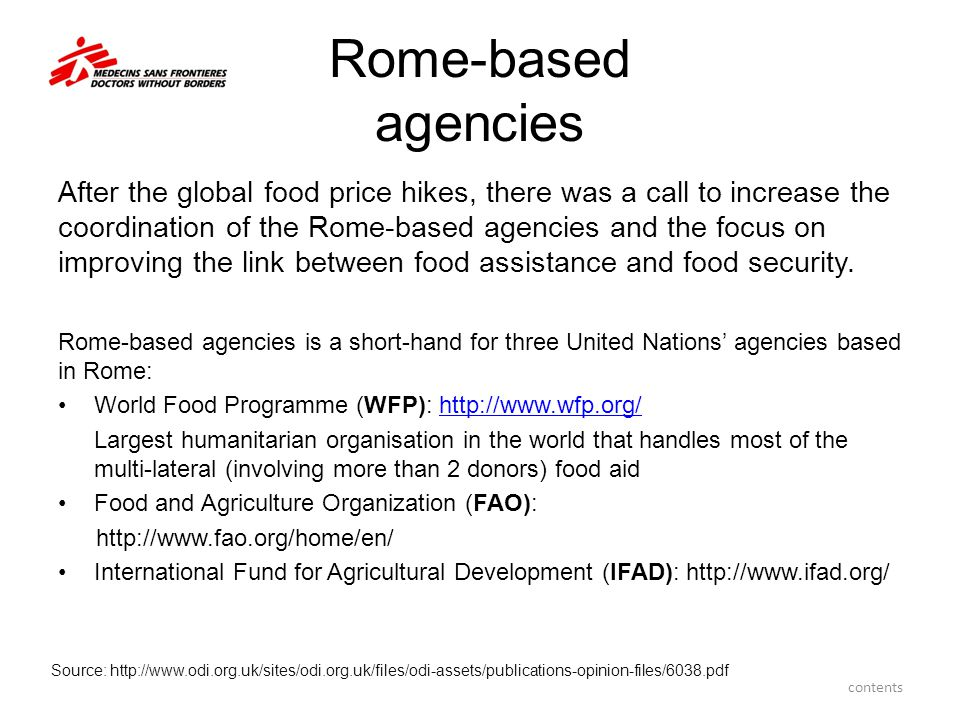 Rome-based agencies