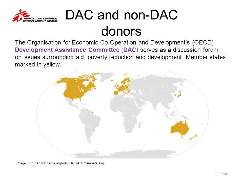DAC and non-DAC donors
