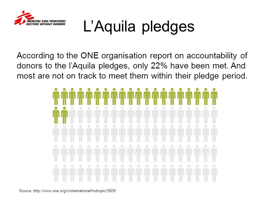 L'Aquila pledges