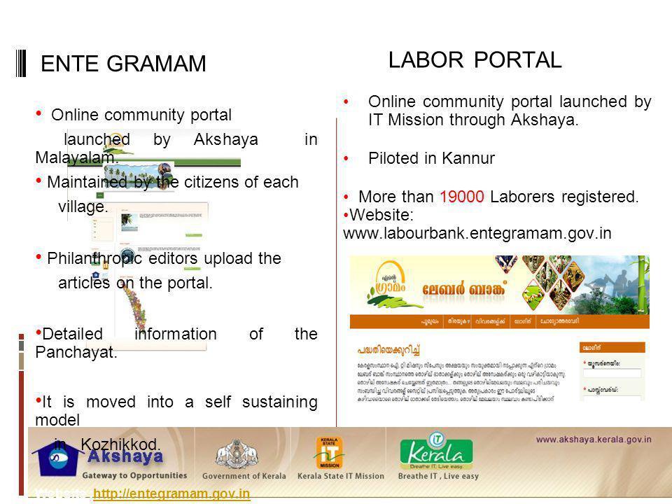 LABOR PORTAL ENTE GRAMAM Online community portal