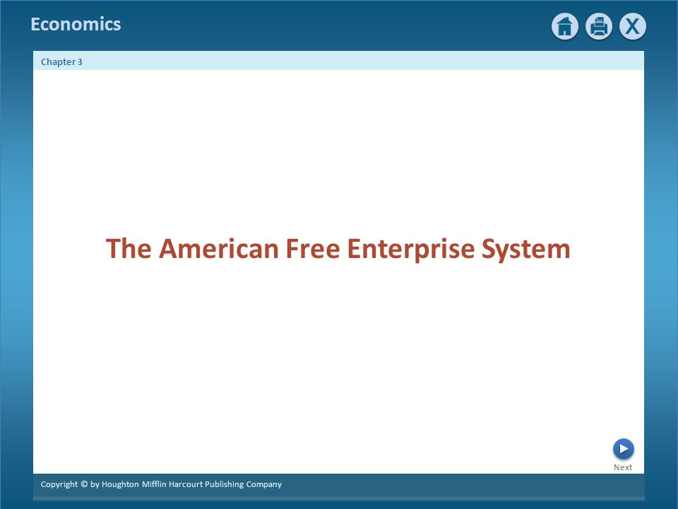 The American Free Enterprise System