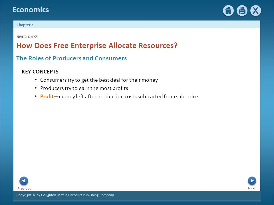 How Does Free Enterprise Allocate Resources