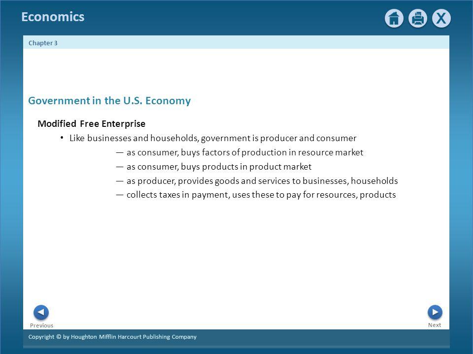 Government in the U.S. Economy