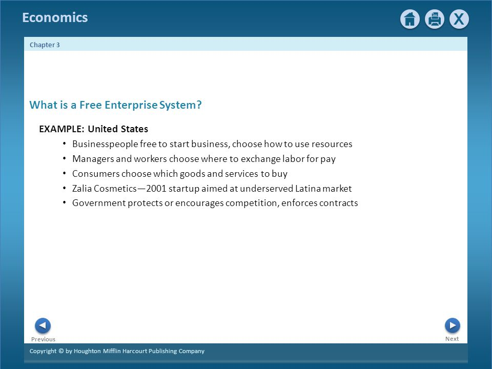 What is a Free Enterprise System