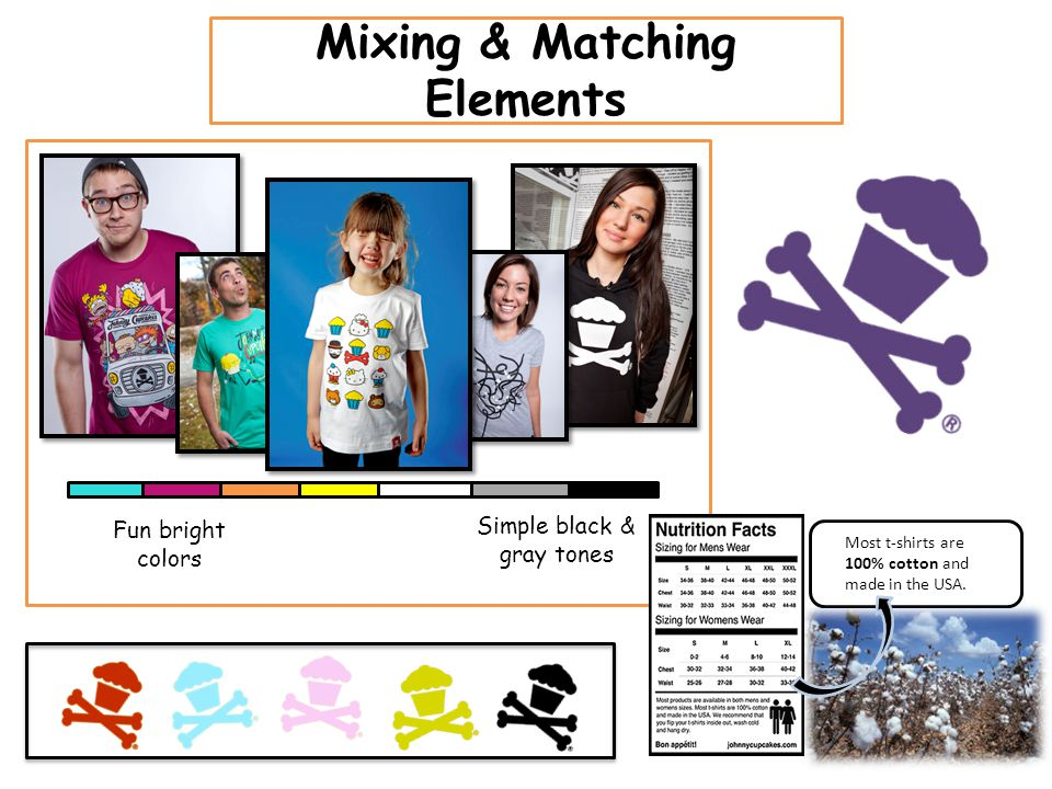 Mixing & Matching Elements