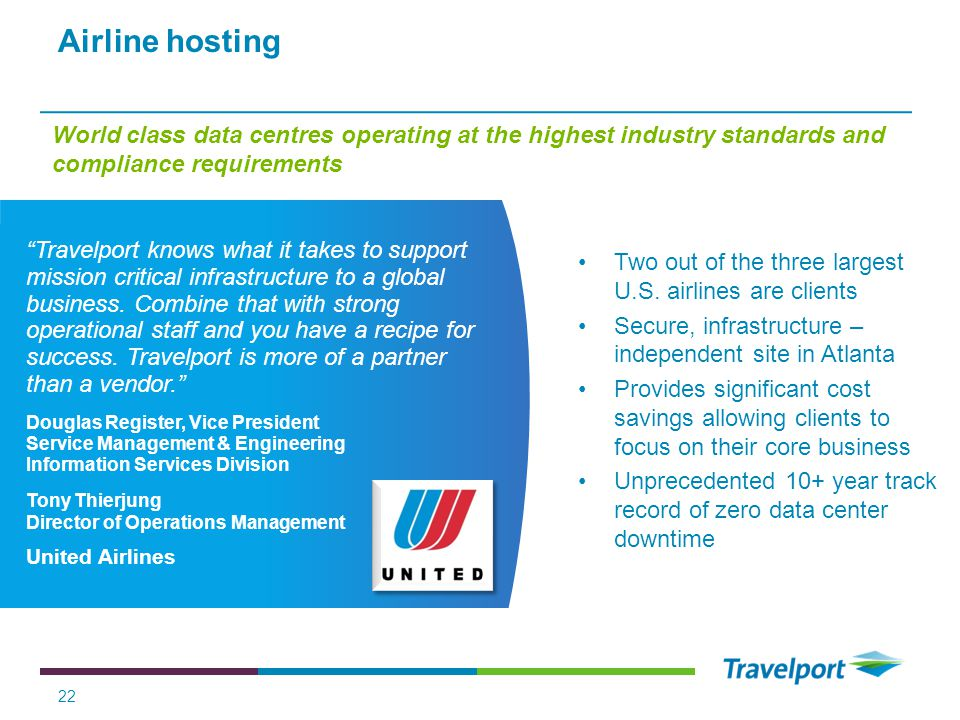 Airline hosting World class data centres operating at the highest industry standards and compliance requirements.