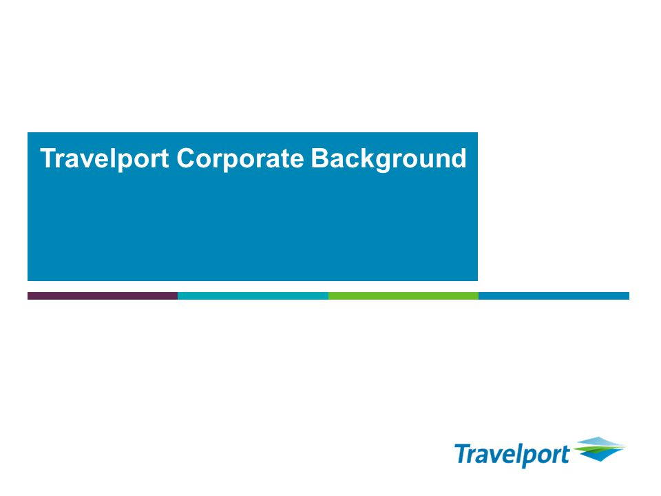 Travelport Corporate Background