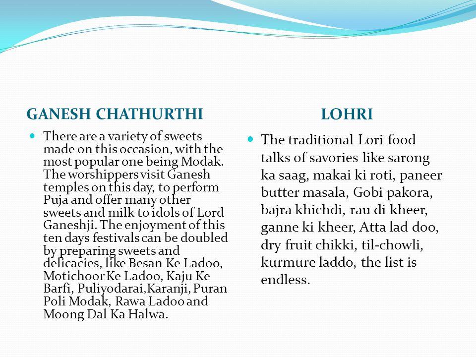 GANESH CHATHURTHI LOHRI