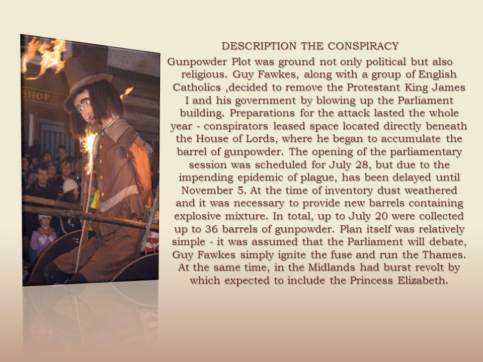 DESCRIPTION THE CONSPIRACY