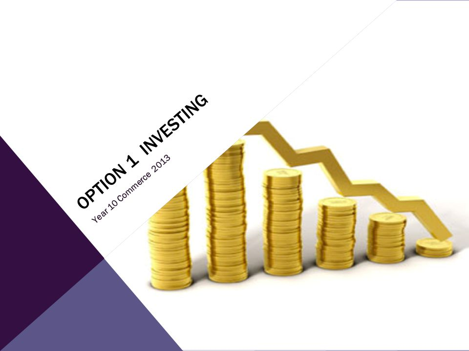 Option 1 Investing Year 10 Commerce 2013 From commercedotcom chapter 3
