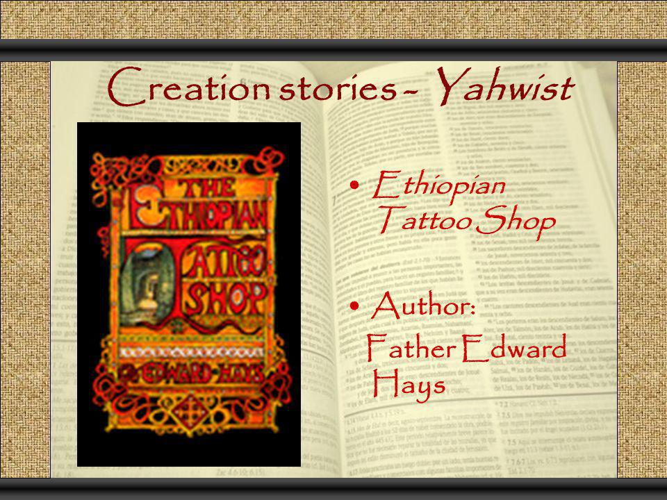 Creation stories - Yahwist