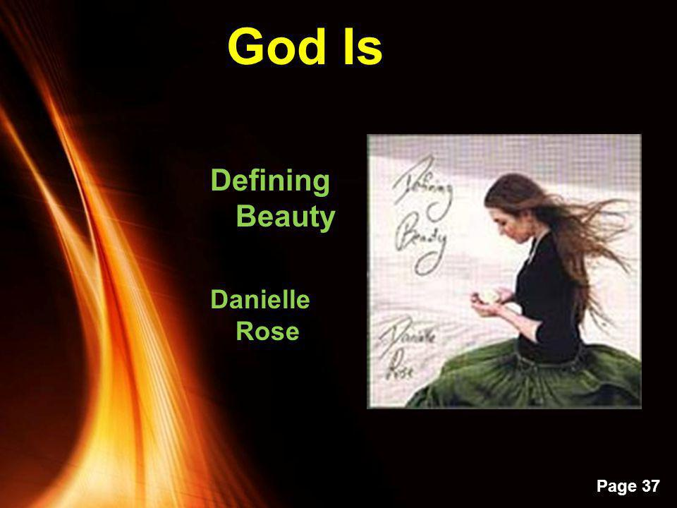 God Is Defining Beauty Danielle Rose