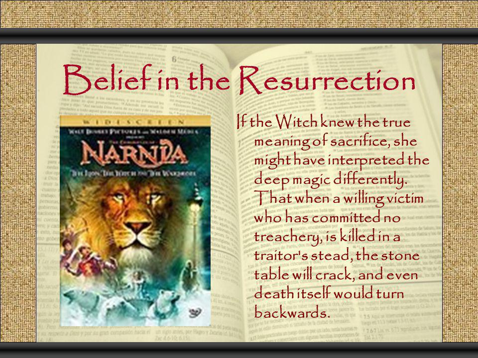 Belief in the Resurrection