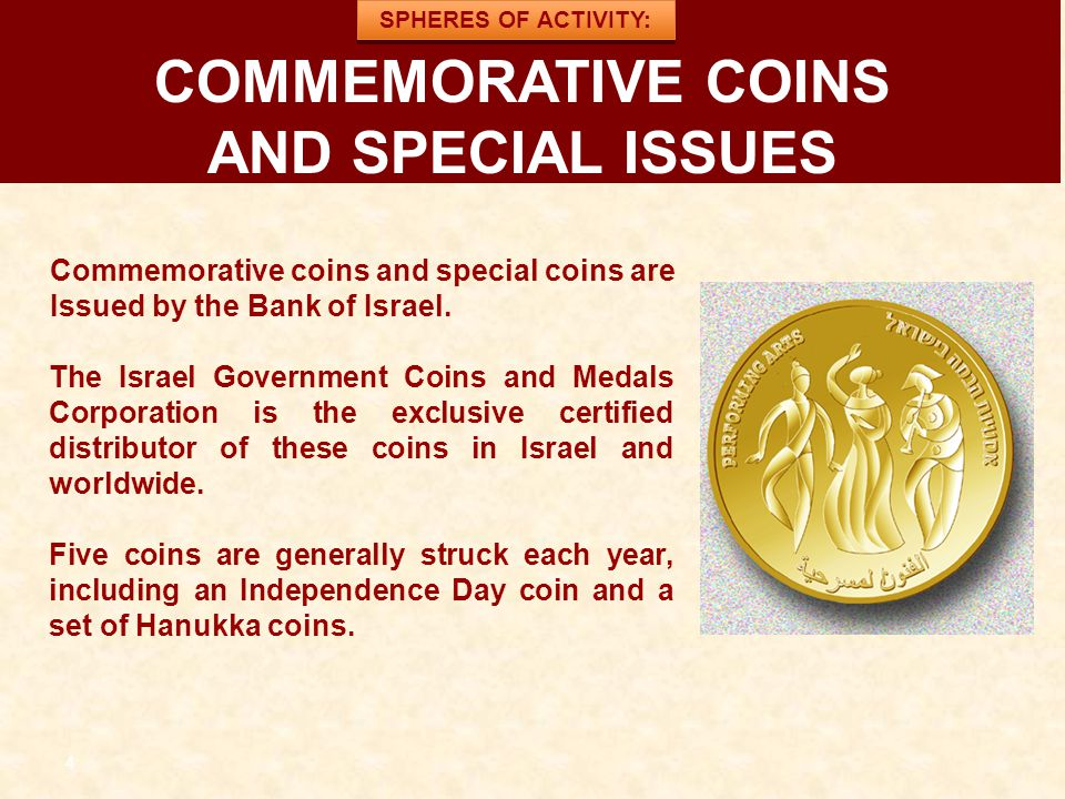 COMMEMORATIVE COINS AND SPECIAL ISSUES