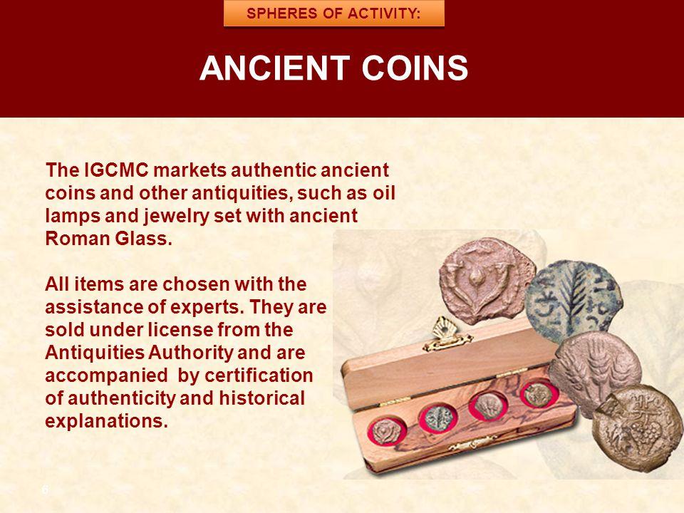למדליות ולמטבעות ANCIENT COINS