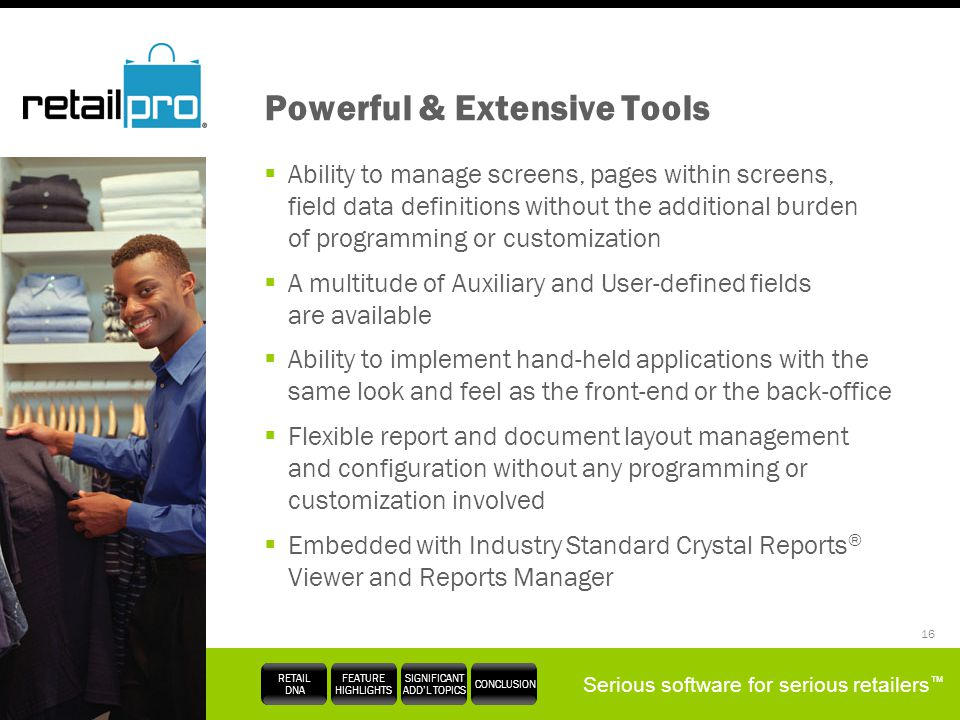 Powerful & Extensive Tools