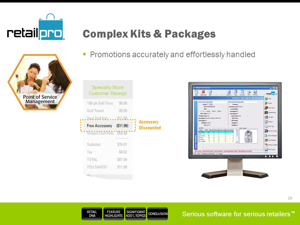 Complex Kits & Packages