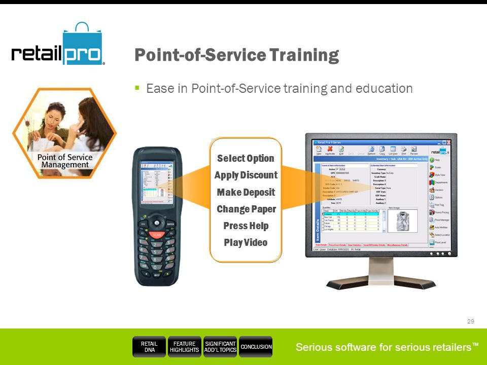 Point-of-Service Training