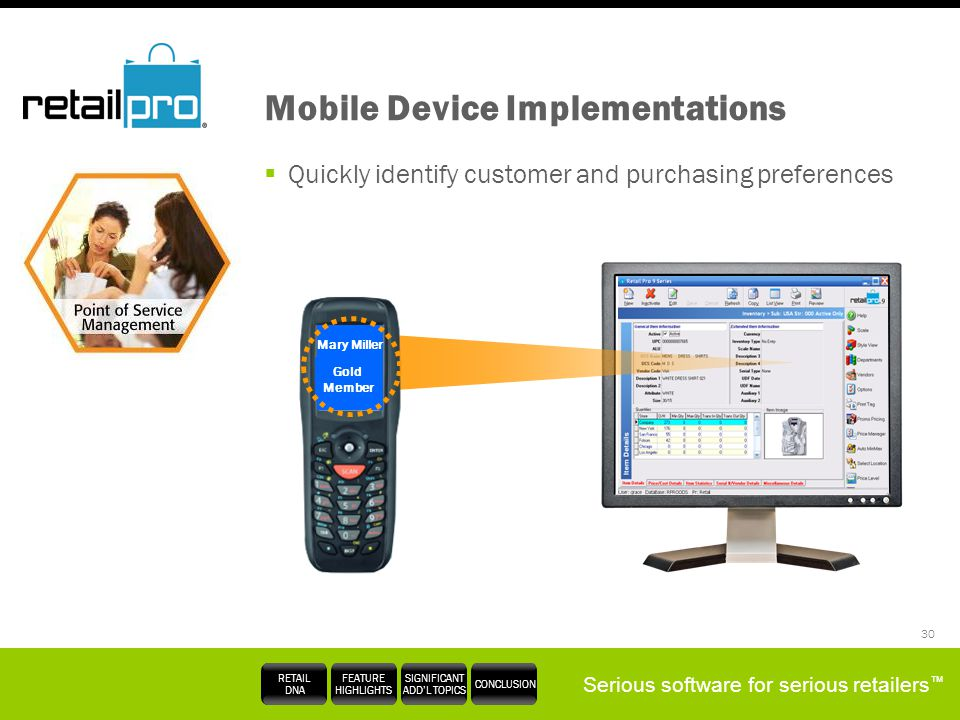 Mobile Device Implementations