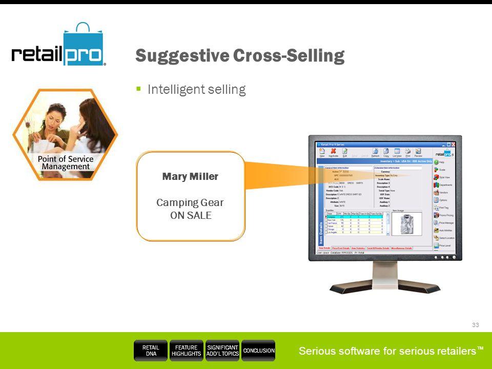 Suggestive Cross-Selling